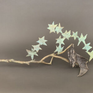 Santa Fe Marketplace Copper Tritscheller – Bat on a Starry Night