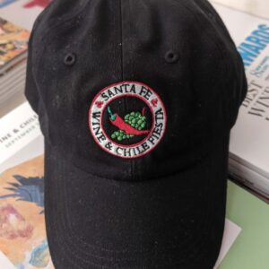 Santa Fe Marketplace Black Logo Ball Cap 2019