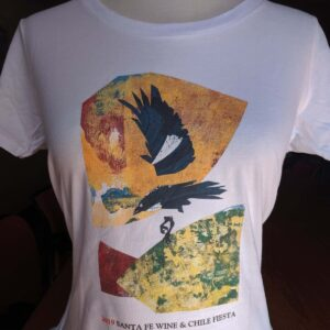 Santa Fe Marketplace Women's White 2019 Art Tee