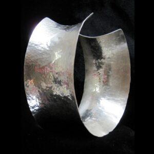 Santa Fe Marketplace Silver Hammered Cuff