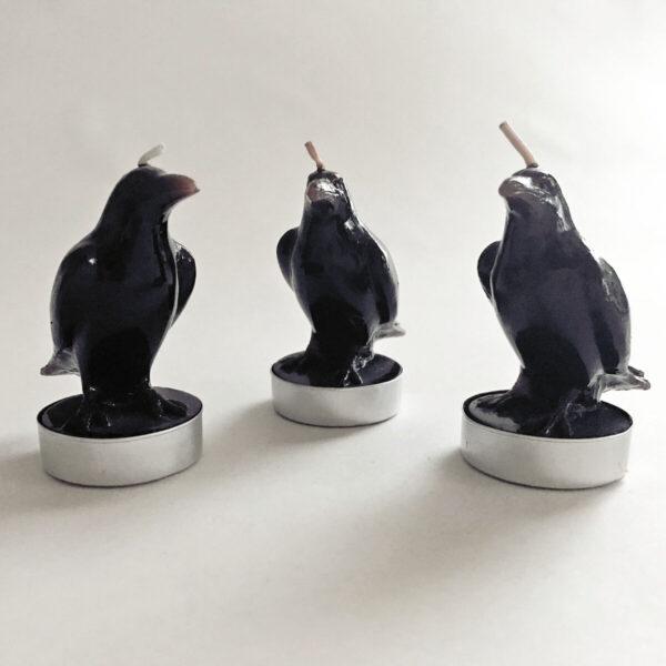 Santa Fe Marketplace Raven Candles