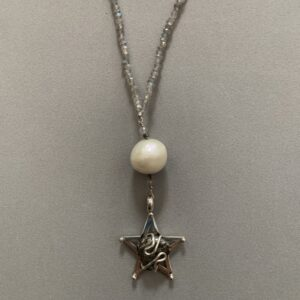 Santa Fe Marketplace Labradorite Star Necklace