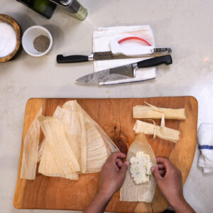 Virtual Tamales Cooking Class