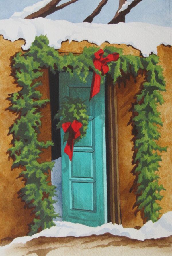 Santa Fe Marketplace New Mexico themed handmade cards