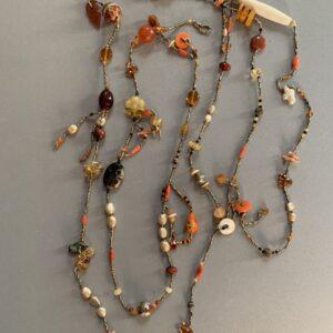 Santa Fe Marketplace Sunburst Carnelian Necklace