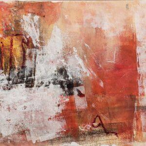 "Santa Fe Marketplace ""Bedrock No. 1"" painting"