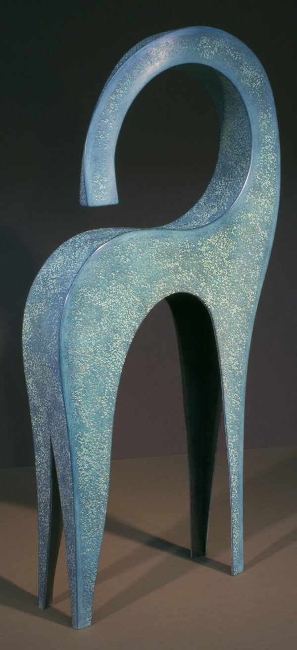 Santa Fe Marketplace Dansa sculpture by Jeffrey Maron