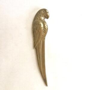 Santa Fe Marketplace Vintage Parrot Letter Opener