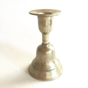 Santa Fe Marketplace Brass Bell Candle Holder