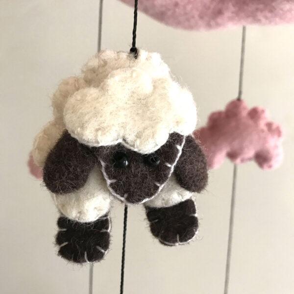 Santa Fe Marketplace Sheep Mobile for Child's Room