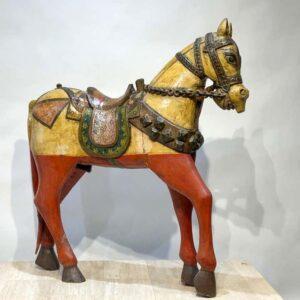 Santa Fe Marketplace Antique Indonesian Horse