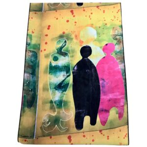 Santa Fe Marketplace Autumn Time scarf by Melanie Yazzie