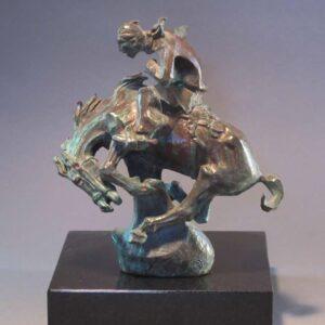 Santa Fe Marketplace Cowboy Bronco Rider by Allan Houser