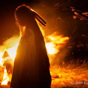 Santa Fe Marketplace Maiden Silhouette – Jan Butchofsky