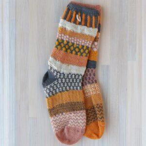 Santa Fe Marketplace Solmate Crew Socks (Buckwheat)