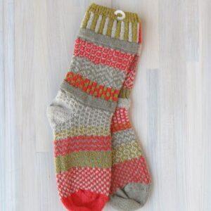 Santa Fe Marketplace Solmate Crew Socks (Desert Rose)