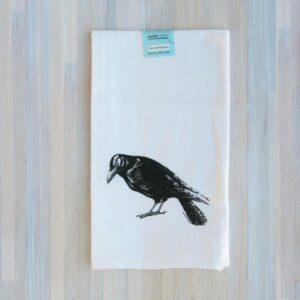 Santa Fe Marketplace Counter Couture Cotton Flour Sack Towel (Raven)