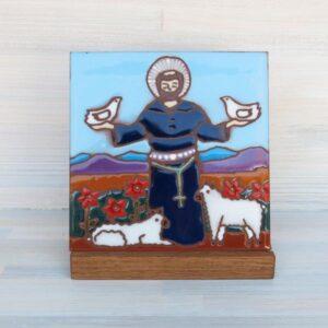 Santa Fe Marketplace Ceramic Tile (St. Francis)