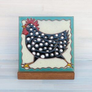 Santa Fe Marketplace Ceramic Tile (Chicken)