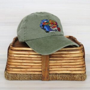 Santa Fe Marketplace SFFM Embroidered Logo Cap (Olive)