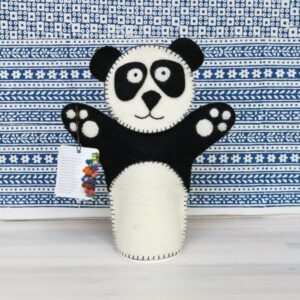 Santa Fe Marketplace Felt Hand Puppet (Panda)