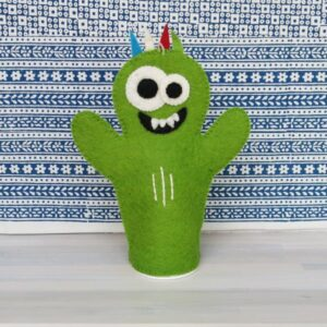 Santa Fe Marketplace Felt Hand Puppet (Monster)