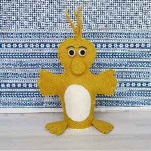 Santa Fe Marketplace Felt Hand Puppet (Duck)