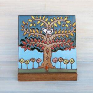 Santa Fe Marketplace Ceramic Tile (Tree of Life)