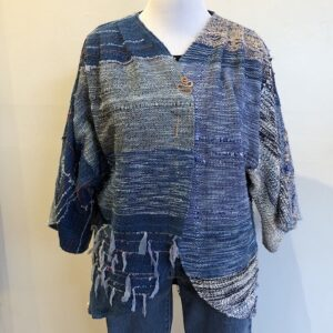 Santa Fe Marketplace Handwoven Cotton Jacket