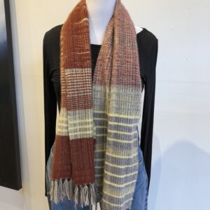 Santa Fe Marketplace Handwoven Cashmere Scarf