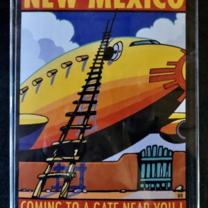 "Santa Fe Marketplace ""A Gate Near You"" Greeting Cards by William Rotsaert"