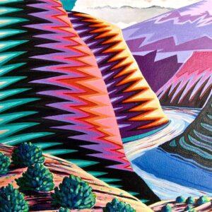 """Santa Fe Marketplace """"Eye Dazzler"""" by William Rotsaert"""