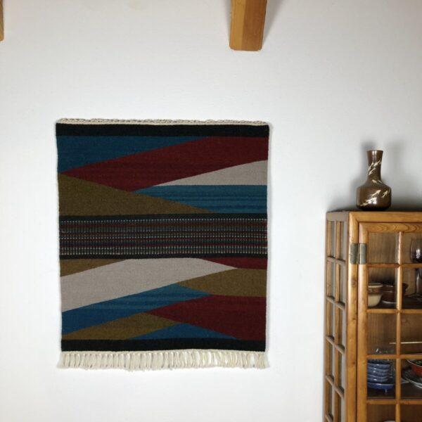 """Santa Fe Marketplace Handwoven Rio Grande Weaving: """"Color Intrusions"""""""