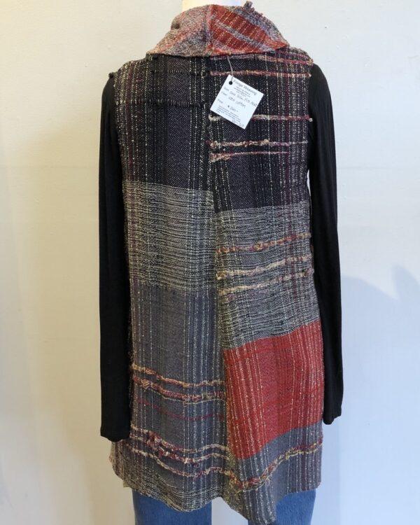 Santa Fe Marketplace Handwoven Long Cotton Vest