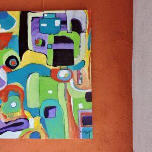 "Santa Fe Marketplace ""Marrakech Medina"" Fine Art by Bouchra Belghali"