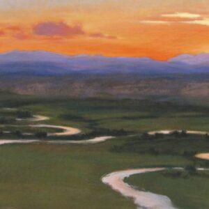 Santa Fe Marketplace Wyoming Sunset