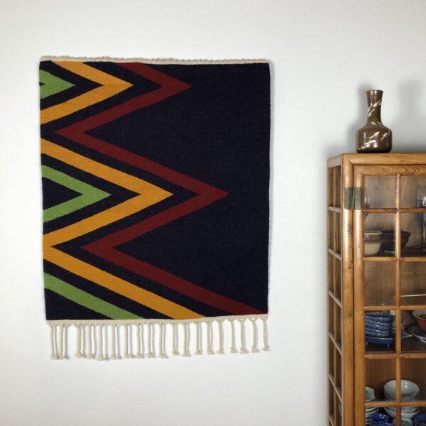 "Santa Fe Marketplace Handwoven Rio Grande Weaving: ""East and West"""