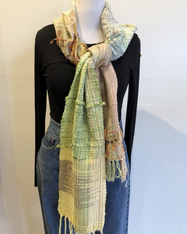 Santa Fe Marketplace Handwoven Cotton Scarf