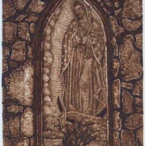 Santa Fe Marketplace Madre de Todos – Original Hand Pulled Collagraph
