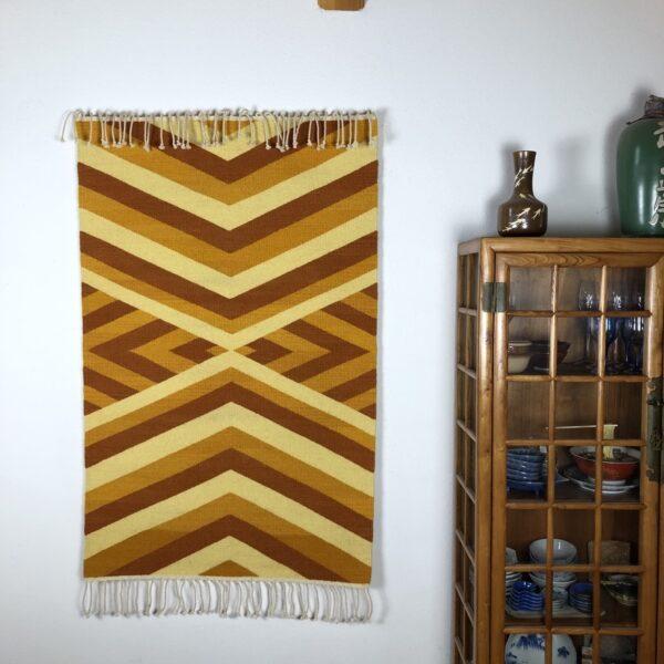 """Santa Fe Marketplace Handwoven Rio Grande Weaving: """"Migration"""""""