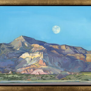 Santa Fe Marketplace Ghost Ranch, Full Moon