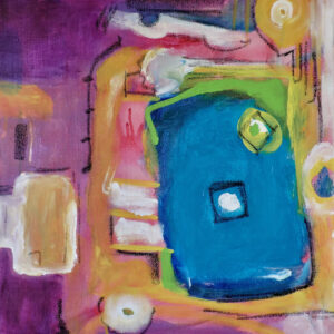 "Santa Fe Marketplace ""My Window"" Giclee on Canvas by Bouchra Belghali"