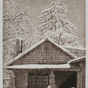 """Santa Fe Marketplace """"Repecho"""" Hand Pulled Copper Etching"""