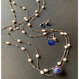 Santa Fe Marketplace Pearl Beauty Necklace
