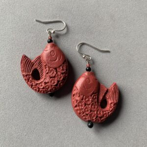 Santa Fe Marketplace Cinnabar Earrings