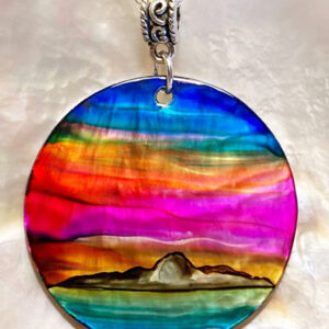 Santa Fe Marketplace Island Sunset Pendant