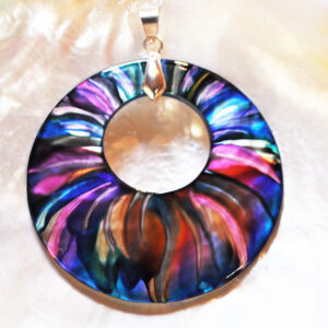 Santa Fe Marketplace Sunflower Pendant