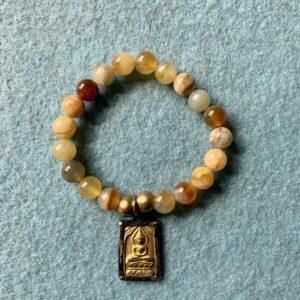 Santa Fe Marketplace Jade and Buddha Bracelet