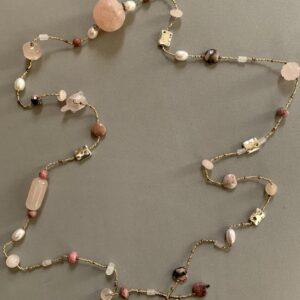 Santa Fe Marketplace Pretty in Pink Necklace
