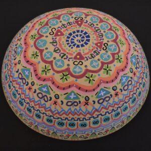"Santa Fe Marketplace ""Angels Dancing"" Chili Rose Meditation Bowl by Adonnah Langer"